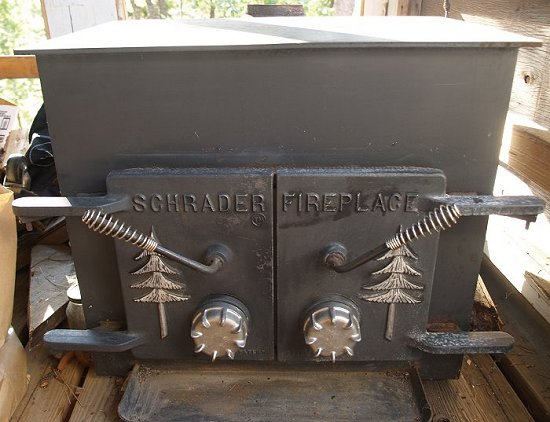 Also noticed a woodstove laying on its back in a yard with weeds growing  out of it. I took a closer look and realized it was about a 10 year old Lopi  ... - Recycling Secrets: Free Scrap Metal, Working Wood Stoves & Parts